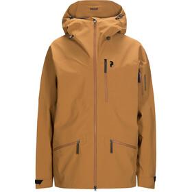 Peak Performance Radical Jacket Herre Honey Brown